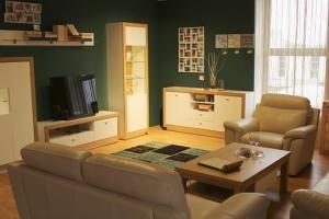 Mocna kolorystyka mieszkania